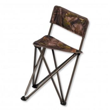 Foldbar jagtstol m/ryglæn