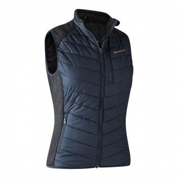 Deerhunter Lady Caroline Padded Vest Dark Blue