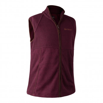 Deerhunter Wingshooter Fleecevest Bordeaux