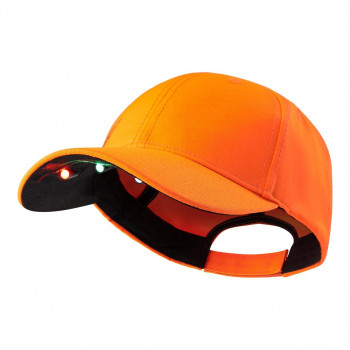 Deerhunter Kasket m. LED Orange