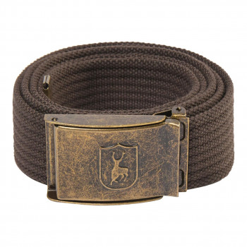 Deerhunter Canvas Belt Otter Brown