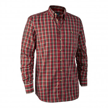 Deerhunter Chris Shirt Red check