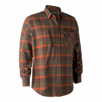 Deerhunter Ethan Skjorte Orange Check