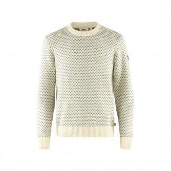 Fjällräven Övik Nordic Sweater Herre Hvid