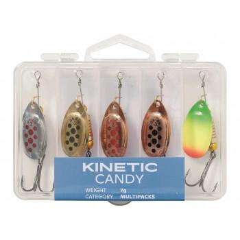 Kinetic Candy Spinnersæt 5 pcs.