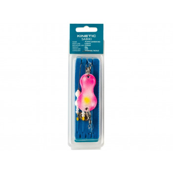 Kinetic Plaice Leader Kinky Pinky 40-120g.