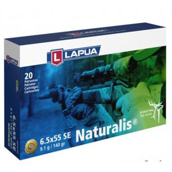 Lapua Naturalis 6,5x55 9,1g. (Blyfri)