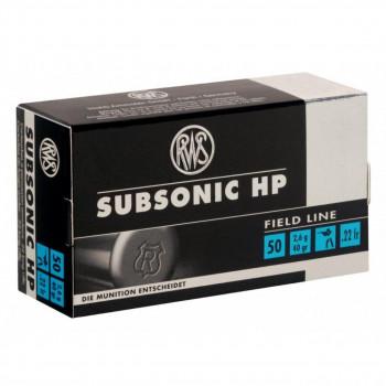 RWS 22 LR Subsonic
