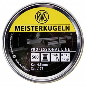 RWS Meisterkuglen 4,5mm.