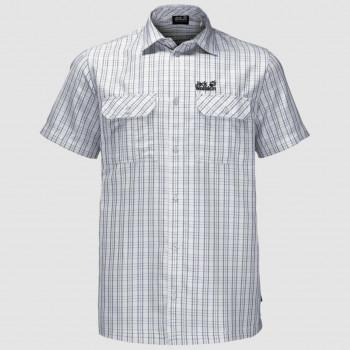 Jack Wolfskin Thompson Skjorte White Rush