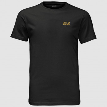 Jack Wolfskin Essential T-shirt Black