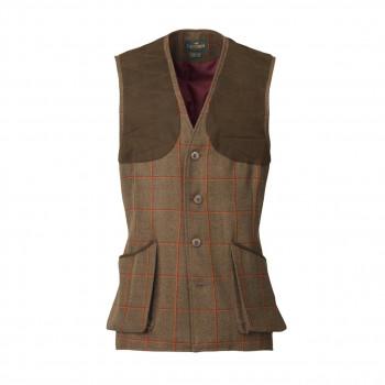Laksen Clyde Leith Shooting Vest Tweed