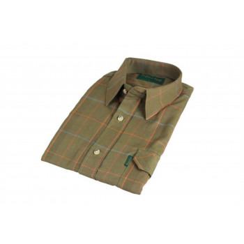 Oxford Blue Norpolk Skjorte Olive