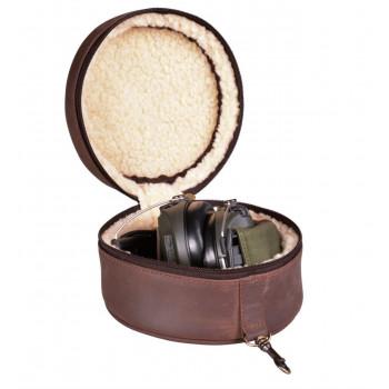 Les Canard Høreværnsetui Læder