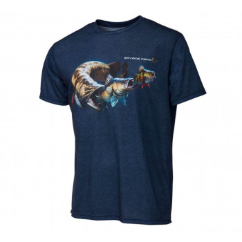 Savage Gear Cannibal Tee T-shirt Blue