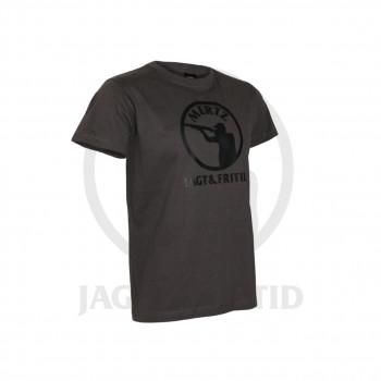 Classic T-shirt m. Mertz logo Grå