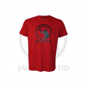 Classic T-shirt m. Mertz logo Rød