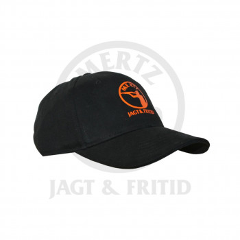 Kasket m. logo Sort One-size