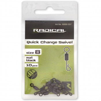 Radical Quick Change Swivel Mat Black