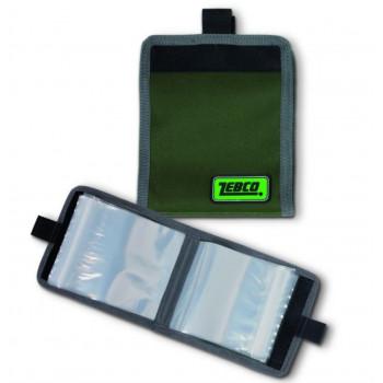 Zebco Medium Rig Wallet 12x16 cm.